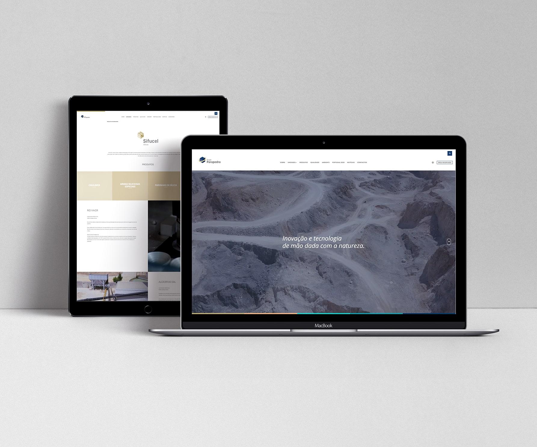 Web Design Grupo Parapedra
